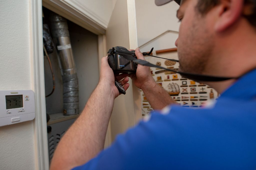 Texas Home Inspection Photo Documentation